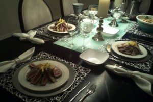 Phoenix Chef Catered dinner